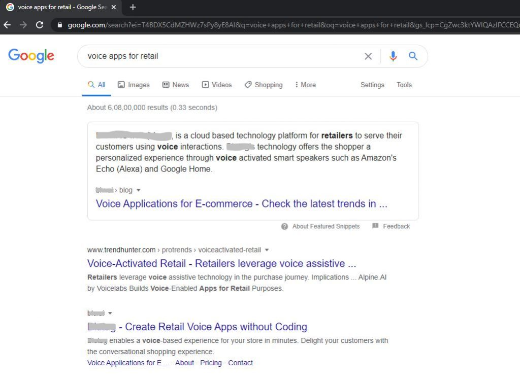 Featured Snippet hack on Google