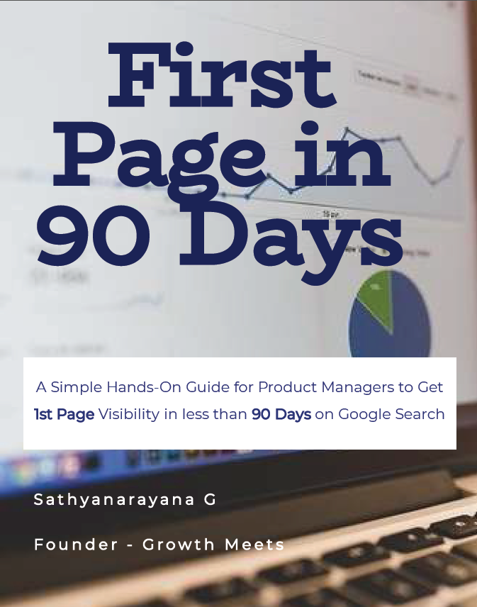 First Page SEO in 90 Days for Product Managers